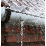 Clogged Gutters can leak into your home and foundation - Call Best Gutter and Roofing today.